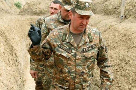 ببینید   تصاویر باورنکردنی از لحظه حمله پهبادی به وزیر دفاع دولت خودخوانده قرهباغ