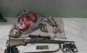دستگیری شکارچیان غیرمجاز در ارتفاعات هشتاد پهلوی خرمآباد