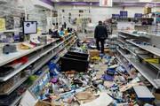 ببینید | جهنم آمریکایی؛ غارت فروشگاه کفش و لباس در فیلادلفیا