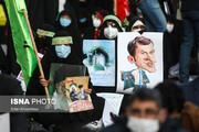 تصاویر | تجمع اعتراضی مقابل سفارت فرانسه در تهران  به دلیل اهانت به پیامبر اعظم (ص)