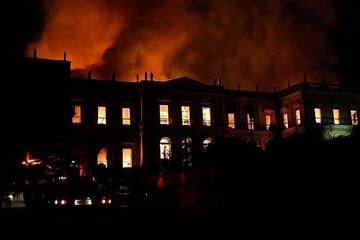 ببینید | 3 کشته براثر آتش سوزی در بیمارستانی در برزیل