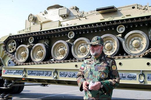 ببینید | رونمایی از ادوات و تجهیزات باز تولید ارتش