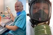 ببینید | محققی که خود را برای دومین بار به ویروس کرونا آلوده کرد