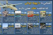 ببینید | آشنایی با ۱۰ پهپاد ایرانی که قابلیت صادر شدن دارند