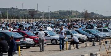 تلاش دلالان برای بالا ماندن قیمت/کاهش 6 تا 60 میلیونی نرخ خودرو