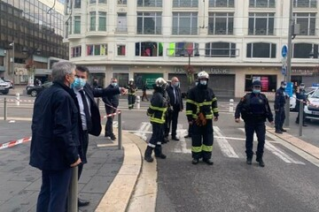 ببینید | حمله تروریستی با سلاح سرد در «نیس» فرانسه با چند کشته