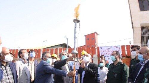 بهرهبرداری از فاز یک شبکه گازرسانی به پارک صنعتی لیا