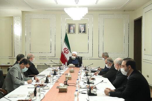 دستورات مهم روحانی به قرارگاه عملیاتی ستاد ملی مبارزه با کرونا