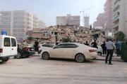 ببینید | تصاویری از خرابی های ناشی از زلزله در ازمیر ترکیه
