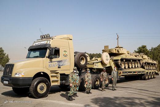 این دستاوردهای نظامی، قدرت ارتش ایران را چند برابر کرده است /بال تانکهای ایرانی در میدان نبرد را ببینید +تصاویر