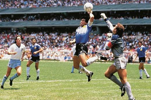مارادونا مقابل انگلیس در جامجهانی 1986 چقدر خوب بازی کرد؟