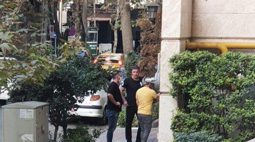 سارقان گردنبند علی دایی، اتفاقی بازداشت شدند