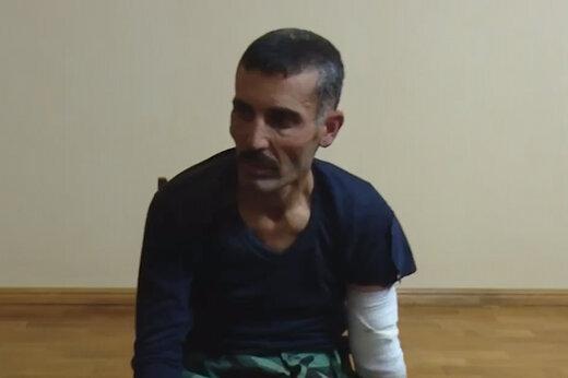 ببینید | اعترافهای جنجالی و باورنکردنی یک تروریست تکفیری سوری پس از اسارت در قرهباغ