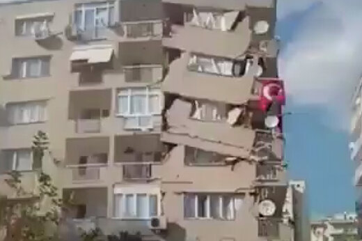 ببینید | بیخ گوش ایران لرزید؛ زلزله ۶.۶ ریشتری در ترکیه