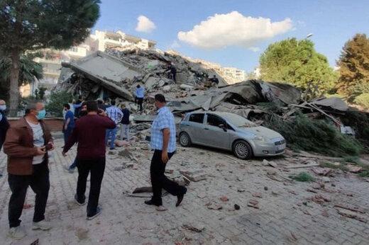 ببینید   لحظات وحشتناک زلزله و تخریب شیشههای یک ساختمان مسکونی در ازمیر