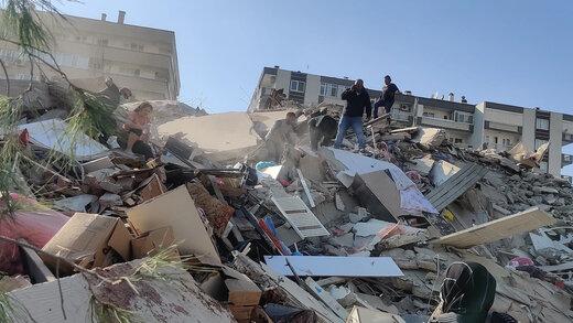 ببینید | تصویر سگی که قهرمان زلزله مهیب ازمیر لقب گرفت