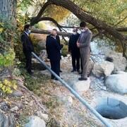 پیشرفت ۵۰ درصدر طرح آبرسانی چشمه چهراز