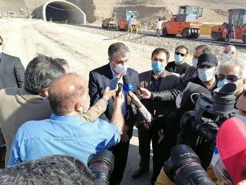 آزادراه آبیک - چرمشهر بزودی افتتاح میشود