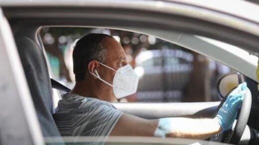 رانندگان بدون ماسک در شهر یزد جریمه می شوند