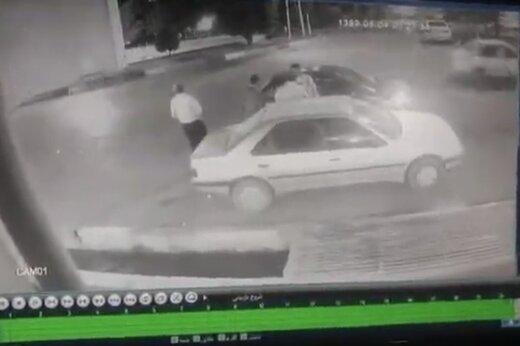 ببینید | تیراندازی شبانه در ورامین بر سر اختلاف مالی