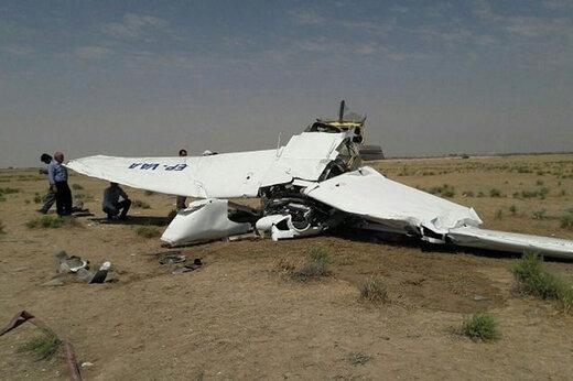 ببینید | سقوط هواپیمای آموزشی ارتش عراق ۲ کشته برجای گذاشت