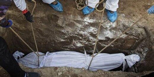 رکوردشکنی آمار تدفین یک روزه در تاریخ بهشت زهرا