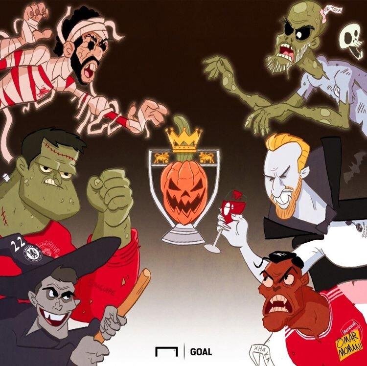 ببینید: هالووین در لیگ جزیره!