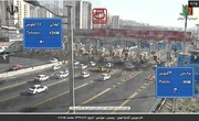 ببینید   وضعیت خروجی و ورودیهای تهران چند ساعت قبل از اعمال محدودیتهای کرونایی