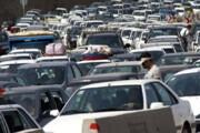 ببینید | ترافیک سنگین در فیروزکوه؛ حمله مسافران به مازندران!