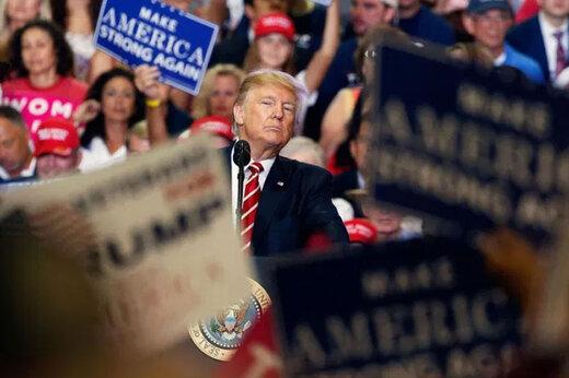 ترامپ مزاحمان بایدن را وطنپرست خواند