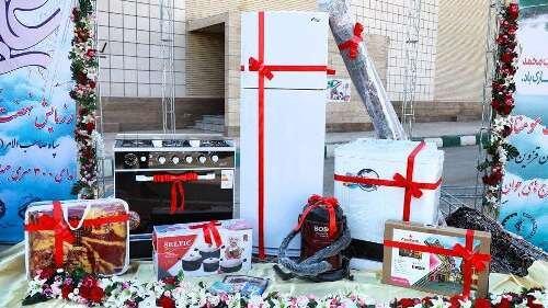 اهدای ۳۰۰سری جهیزیه به زوجهای جوان قزوینی