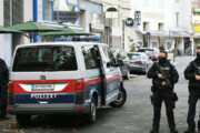 ببینید | ادای احترام مقامات بلند پایه اتریش به قربانیان عملیات تروریستی