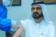 عکس | تزریق واکسن کرونا به حاکم دبی