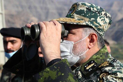 وضعیت مرزهای شمال غرب کشور به روایت فرمانده نیروی زمینی ارتش