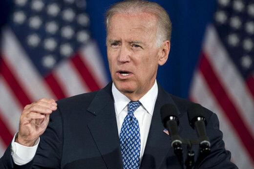 ببینید | دویدن جو بایدن روی سن جشن پیروزی تا نشان دهد جو خواب آلو نیست!