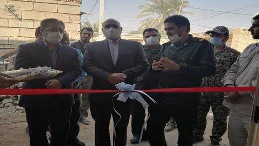 افتتاح ۳ خانه مسکونی ساخته شده از سوی جهادگران در دشت آزادگان