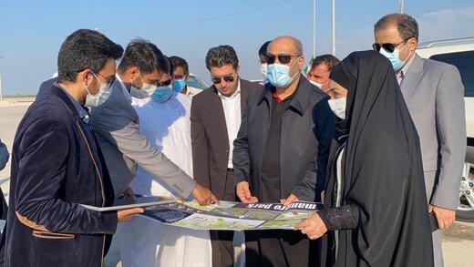 بازدید مدیرعامل سازمان منطقه آزاد قشم از ۱۱طرح، پروژه و سایت گردشگری قشم