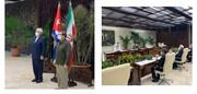 ظریف در کوبا؛دیدارها و گفتگوهای وزیر خارجه کشورمان در هاوانا/عکس