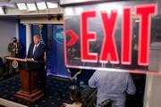 قطع پخش کنفرانس خبری دونالد ترامپ، قدرت رسانه یا سانسور؟