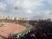حضور بیشمار تماشاگران در دربی شهر حلب در ایام کرونا/عکس