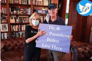 ببینید | عکس معناداری که همسر بایدن در کنار رئیس جمهور جدید آمریکا منتشر کرد