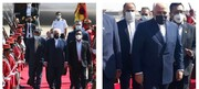 ظریف برای شرکت در مراسم تحلیف رئیسجمهور بولیوی وارد لاپاز شد/عکس
