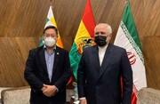 ظریف با رییس جمهوری منتخب بولیوی دیدار کرد