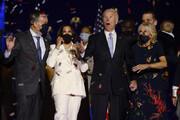 ببینید | جو بایدن به همراه خانواده در جشن پیروزی در ویلمینگتون