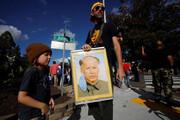 ببینید | پرترهای جنجالی از رهبر انقلاب کمونیستی چین در شکل و شمایل «جو بایدن»
