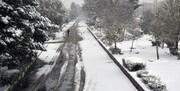 مازندران«برفی» شد/ بارش باران در ۹ استان