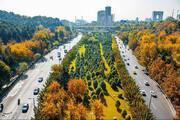ببینید | قابهای بینظیر از حال و هوای پاییزی تهران
