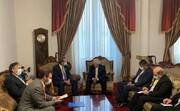 ظریف با وزیر خارجه شیلی دیدار کرد/عکس