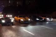 ببینید | اتوبانهای خلوت تهران؛ جولانگاه مسابقات شبانه خیابانی