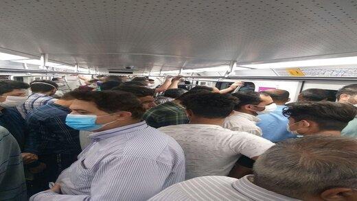 توضیحات نوبخت درباره شلوغی مترو در دوره کرونا